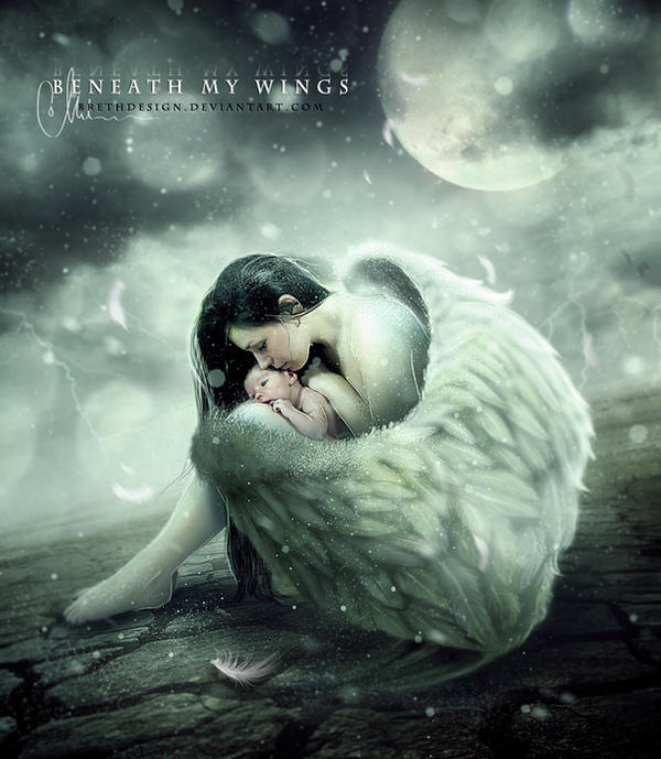 .: BENEATH MY WINGS :. by brethdesign