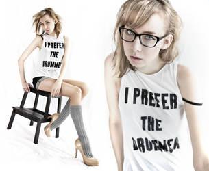 .:I PREFER THE DRUMMER:. by brethdesign
