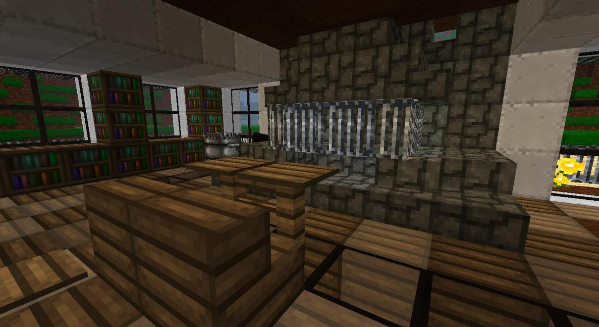 Minecraft Home Interior