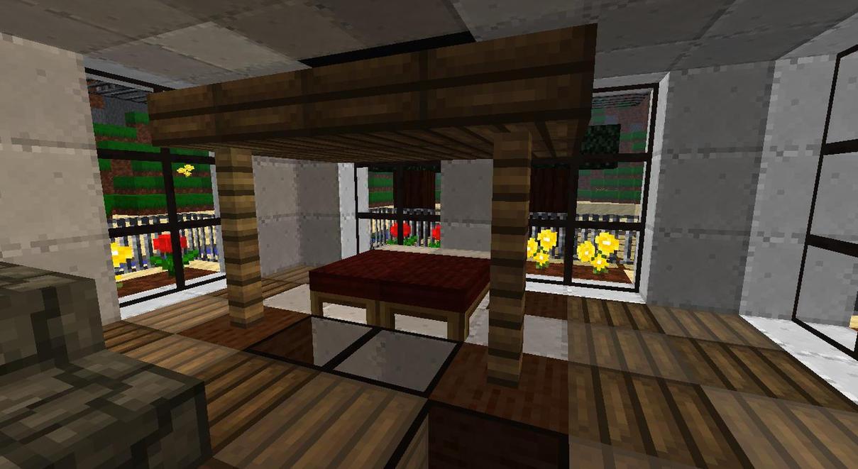 My Minecraft Beach House-Bedroom By Lilgamerboy14 On