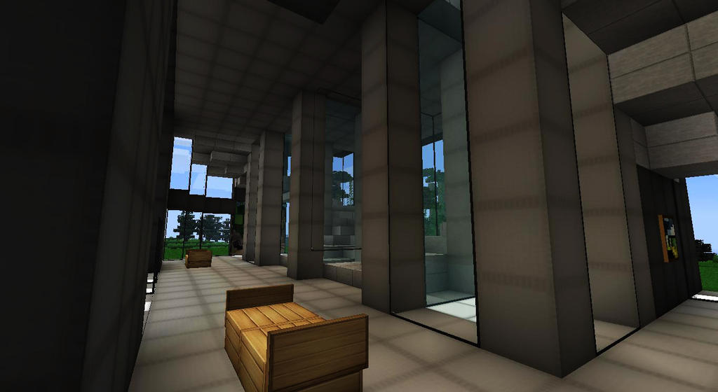 1 4 5 the block rpg server hiring builders scripters screenshots show your creation - Minecraft office interior ...