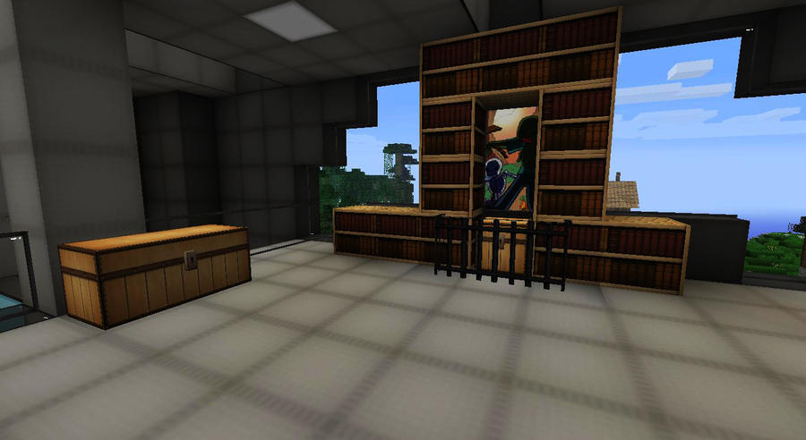 My Minecraft Builds Loans Spawn Office Interior By