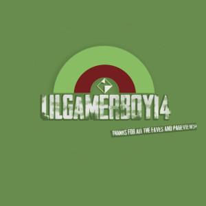 lilgamerboy14's Profile Picture