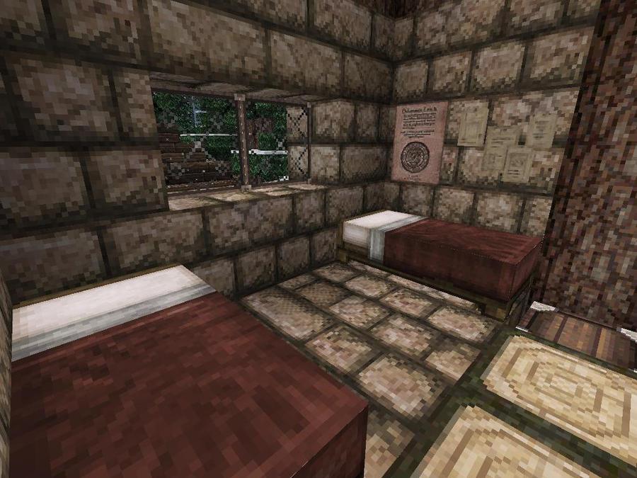 Minecraft Family Cabin Bedroom By Lilgamerboy14 On Deviantart