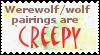 Werewolf X wolf by Pencilartguy