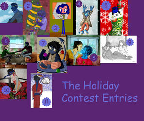Holiday Contest Entries