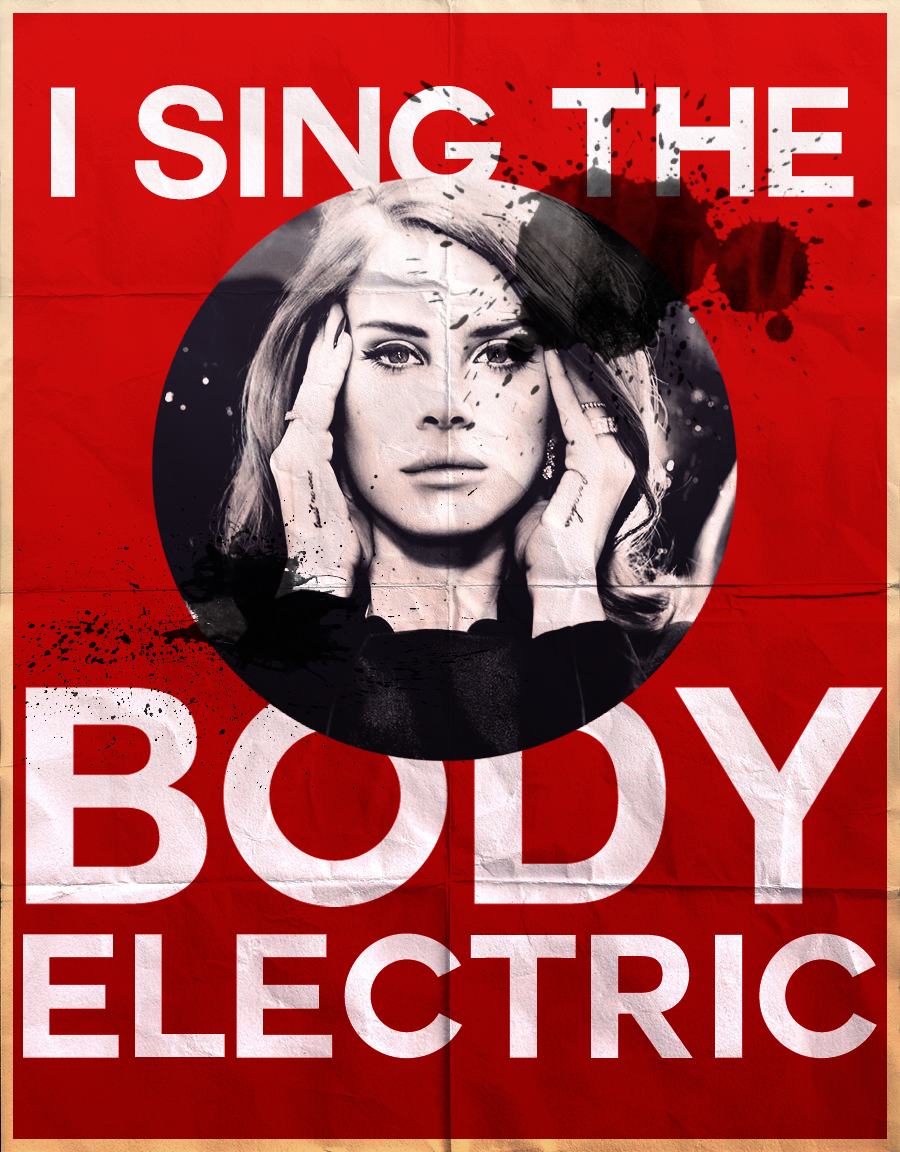 Lana Del Rey - Banner