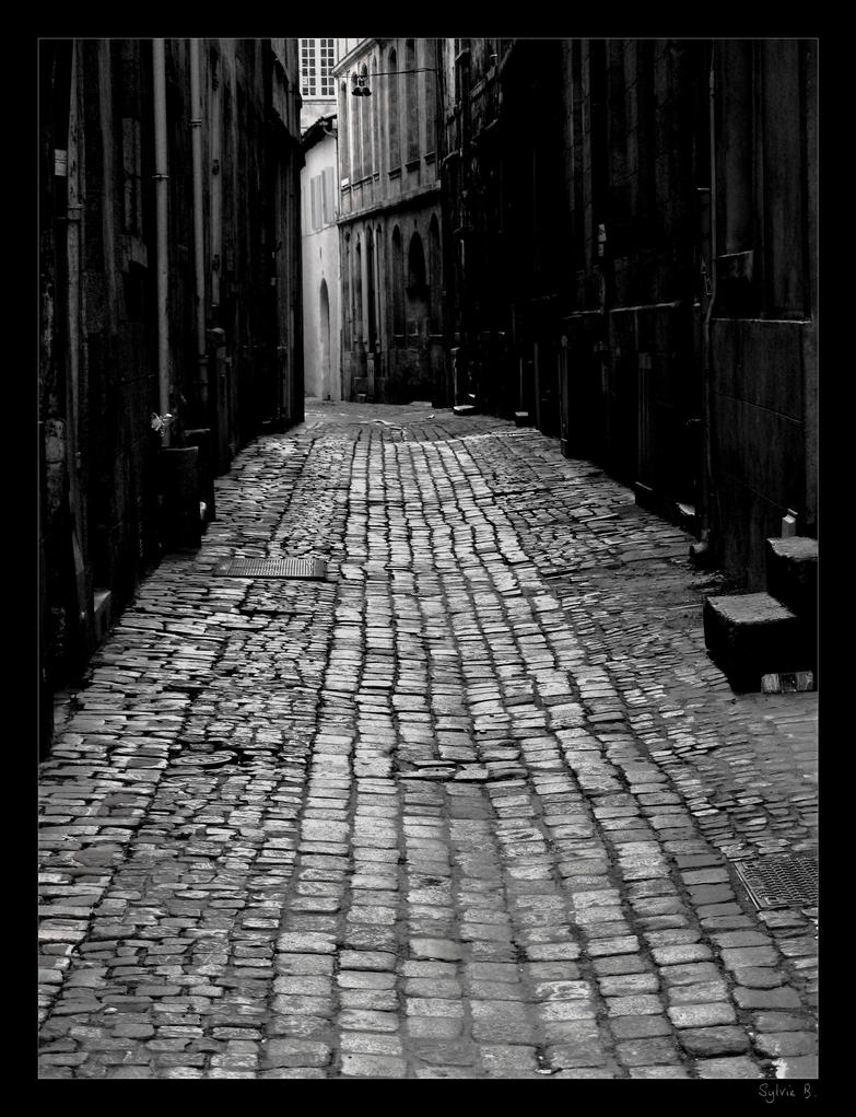 Dark street by Ernestine-SB