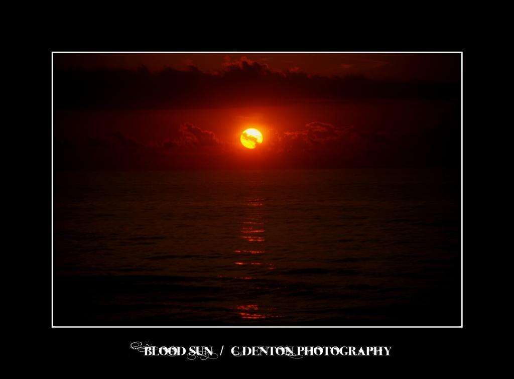 .028 - Blood sun by C-Denton-Photography