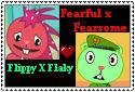 Flippy x Flaky stamp