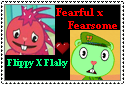 Flippy x Flaky stamp by xxxTheHTFOmenxxx