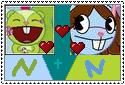Nutty x Neena Stamp by xxxTheHTFOmenxxx