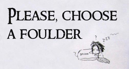Choose a foulder