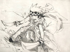 Ainu Warrior by Twins-Asakura