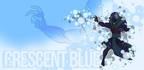 Crescent Blue: Hero Vision By MrGreenlight