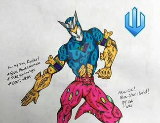 New Character: Blue-Star-Gold