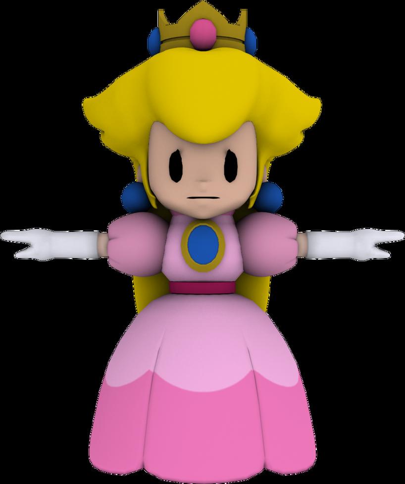 Paper princess peach