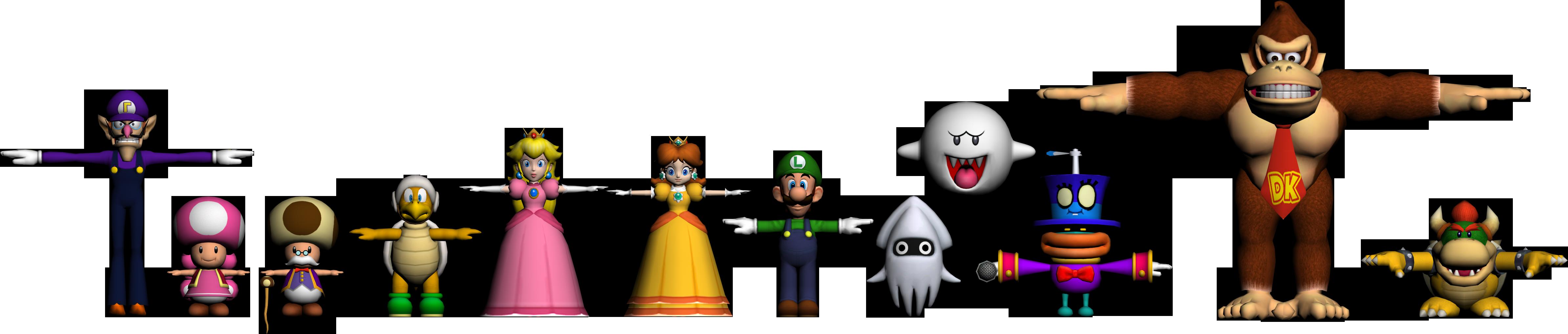 Mario Party model render by Luigimariogmod on DeviantArt