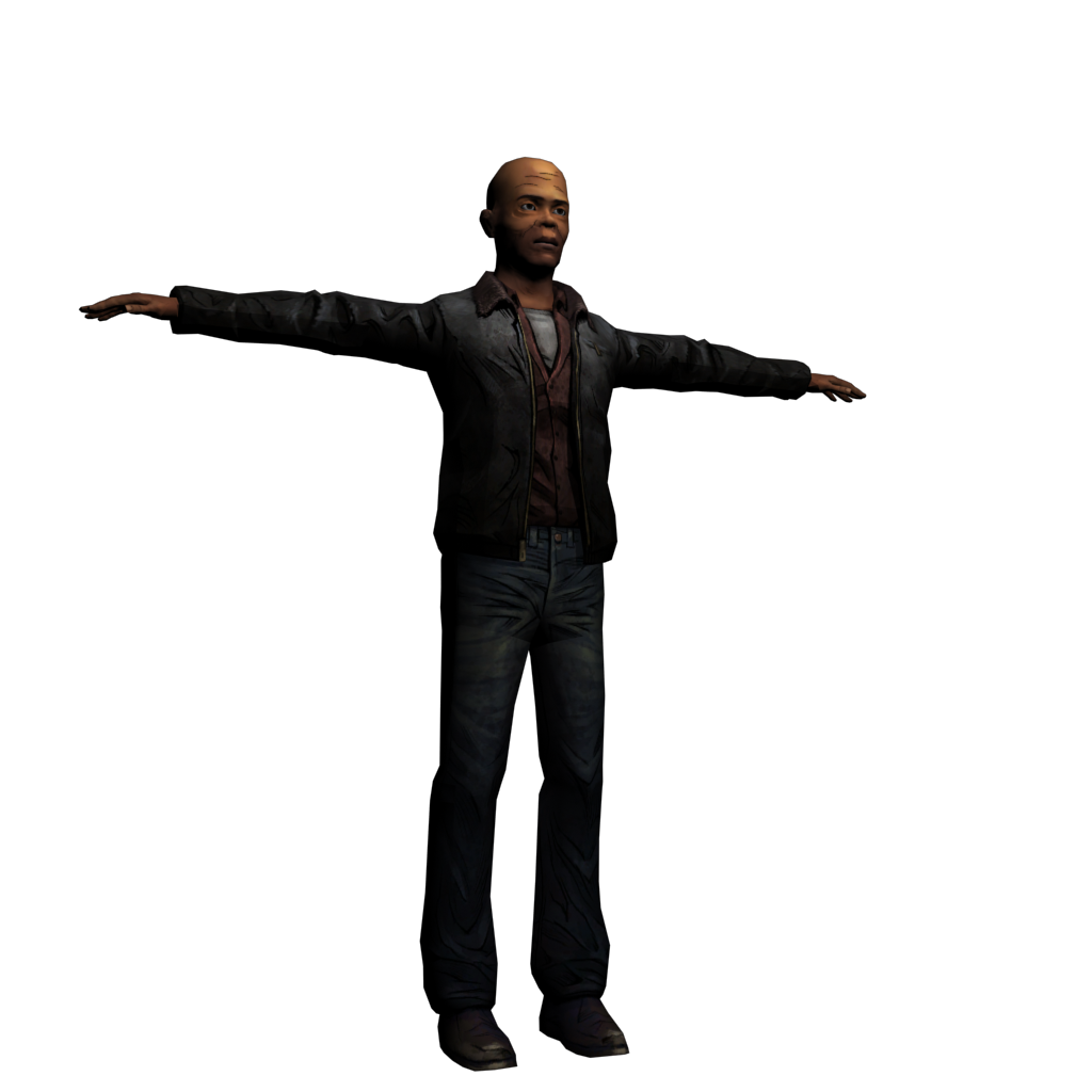 Samuel L Jackson Model (TWD version) by Luigimariogmod