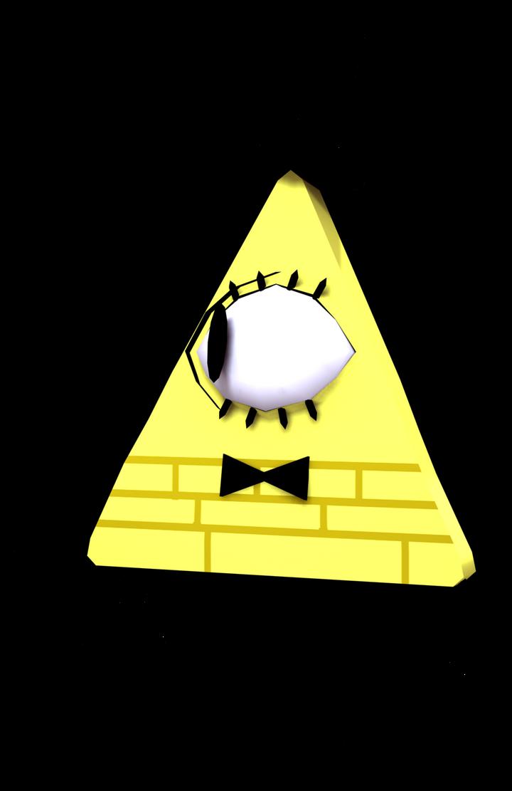 Bill Cipher 3D Model by Luigimariogmod