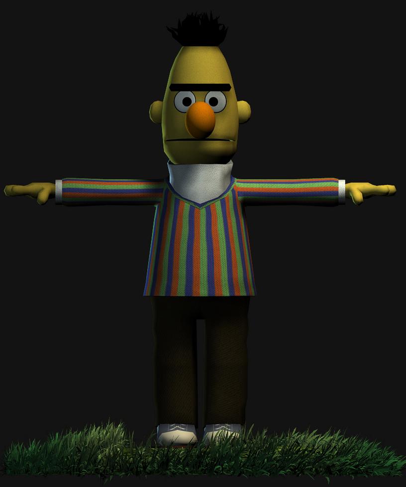 Bert (WiP) by Luigimariogmod