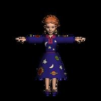 Ms. Frizzle 3d Model