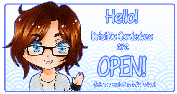 Comissions are OPEN by Drieth