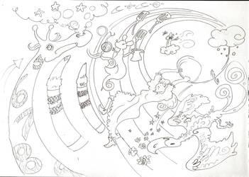 Swirling DoodleJoy by harun-khan