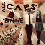 ALL CAPS album cover by faeryPOET