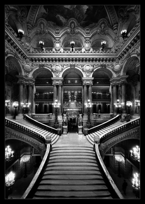 Три фото парижской Оперы