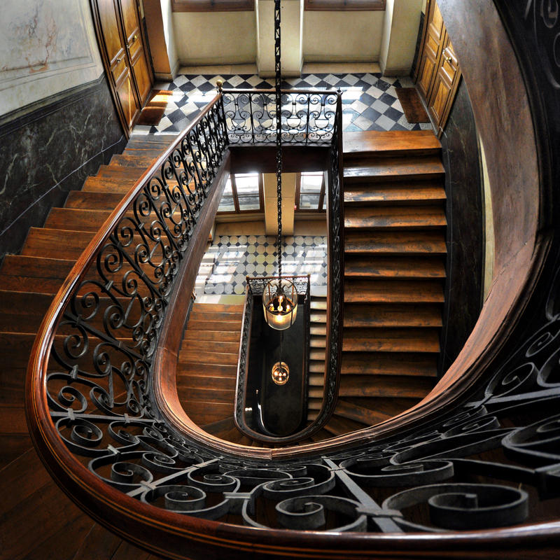 Amber Light - Escalier Vidocq by endegor