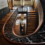 Amber Light - Escalier Vidocq