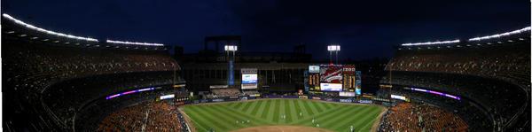 Shea stadium panorama by FlukieW