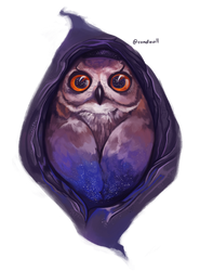 Starry Owl by Candevil