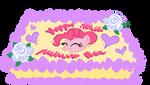 Pinkie Pie's Birthday Cake - Vector
