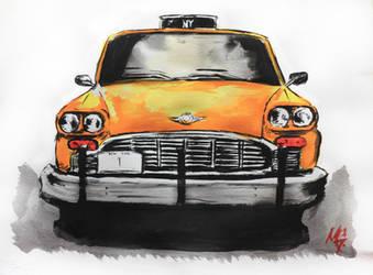 NY taxi no 1 by memougler