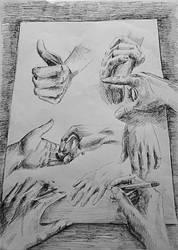 Hands by memougler