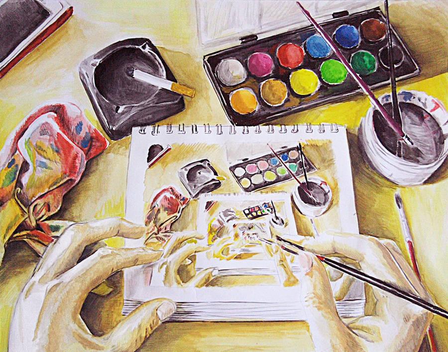 Watercolor by memougler