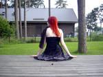 Pretty black dress 1 by Kechake-stock