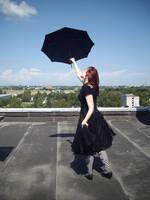 Umbrella Girl 24 by Kechake-stock