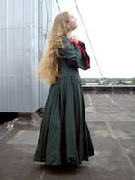 Medieval Girl 18 by Kechake-stock