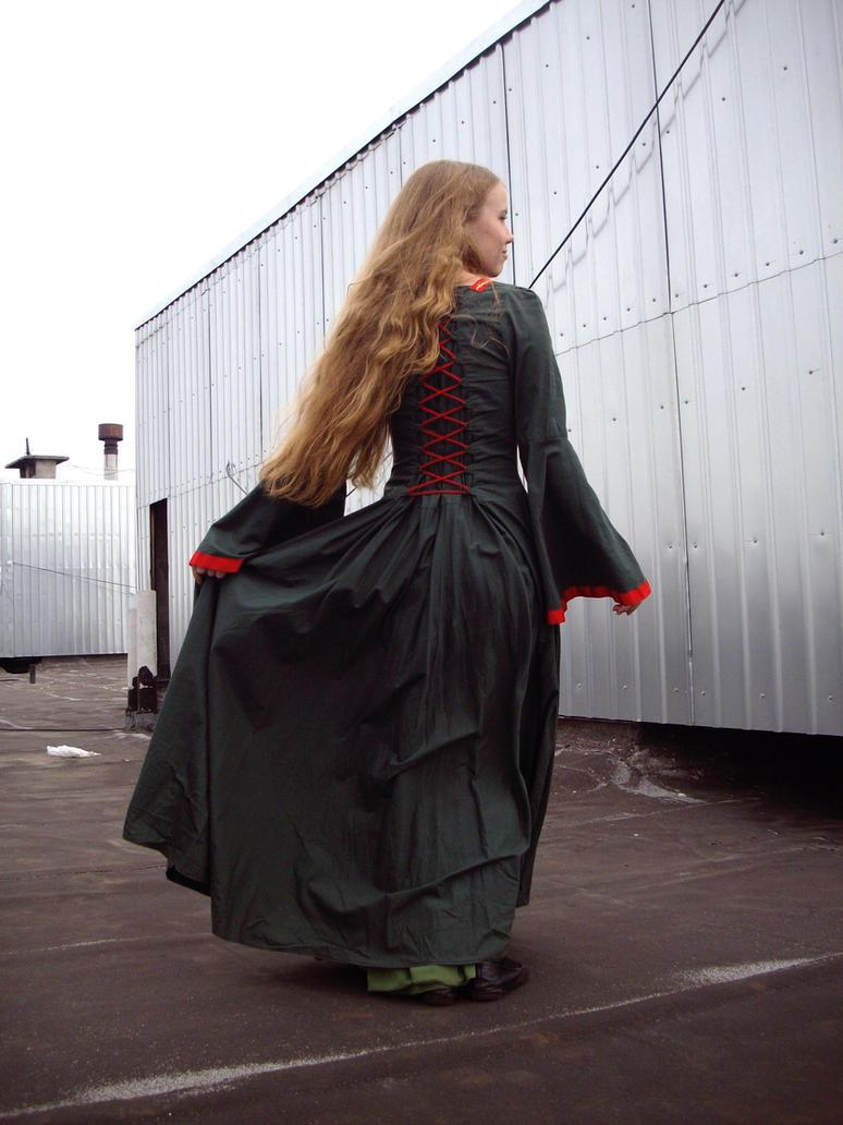 Medieval Girl 32 by Kechake-stock
