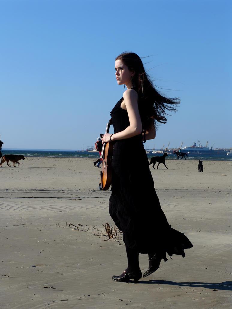 Harlequin Violin 6 by Kechake-stock