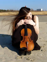 Harlequin Violin 24 by Kechake-stock