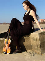 Harlequin Violin 29 by Kechake-stock