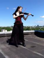 Black Violin by Kechake-stock