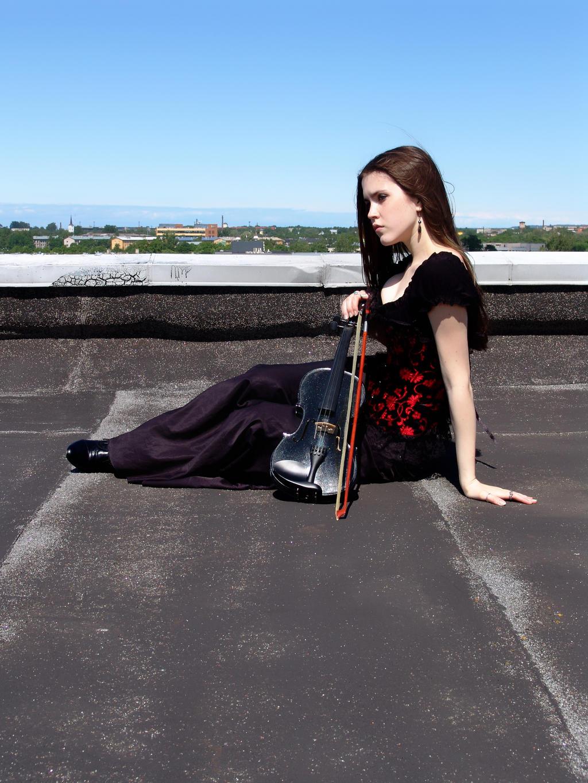 Black Violin 4 by Kechake-stock