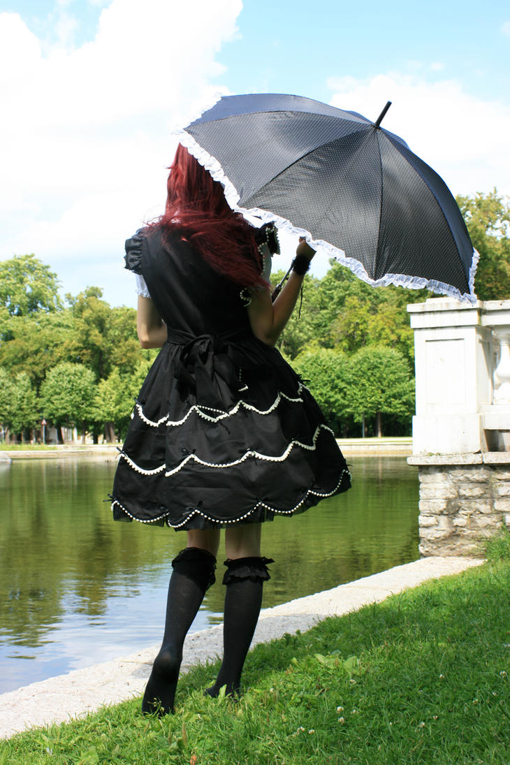 Gothic Lolita 9 by Kechake-stock