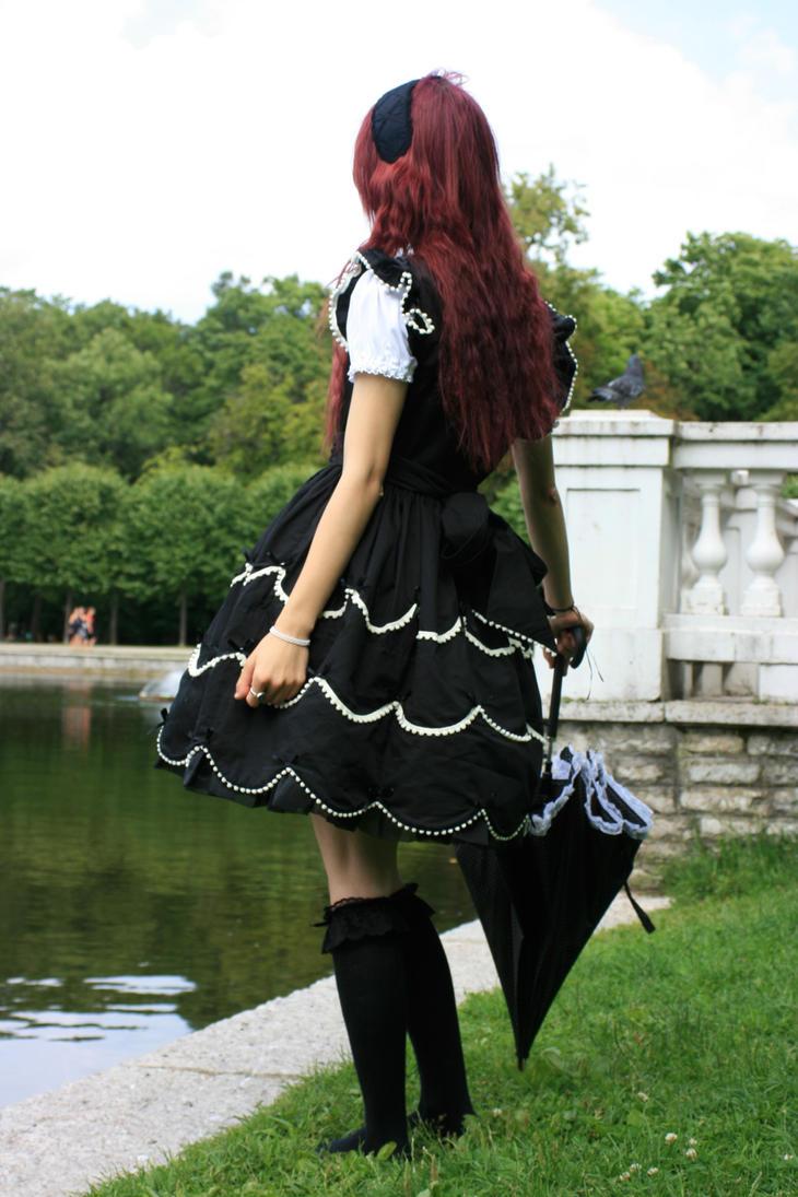 Gothic Lolita 10 by Kechake-stock