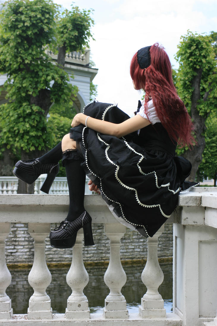 Gothic Lolita 11 by Kechake-stock
